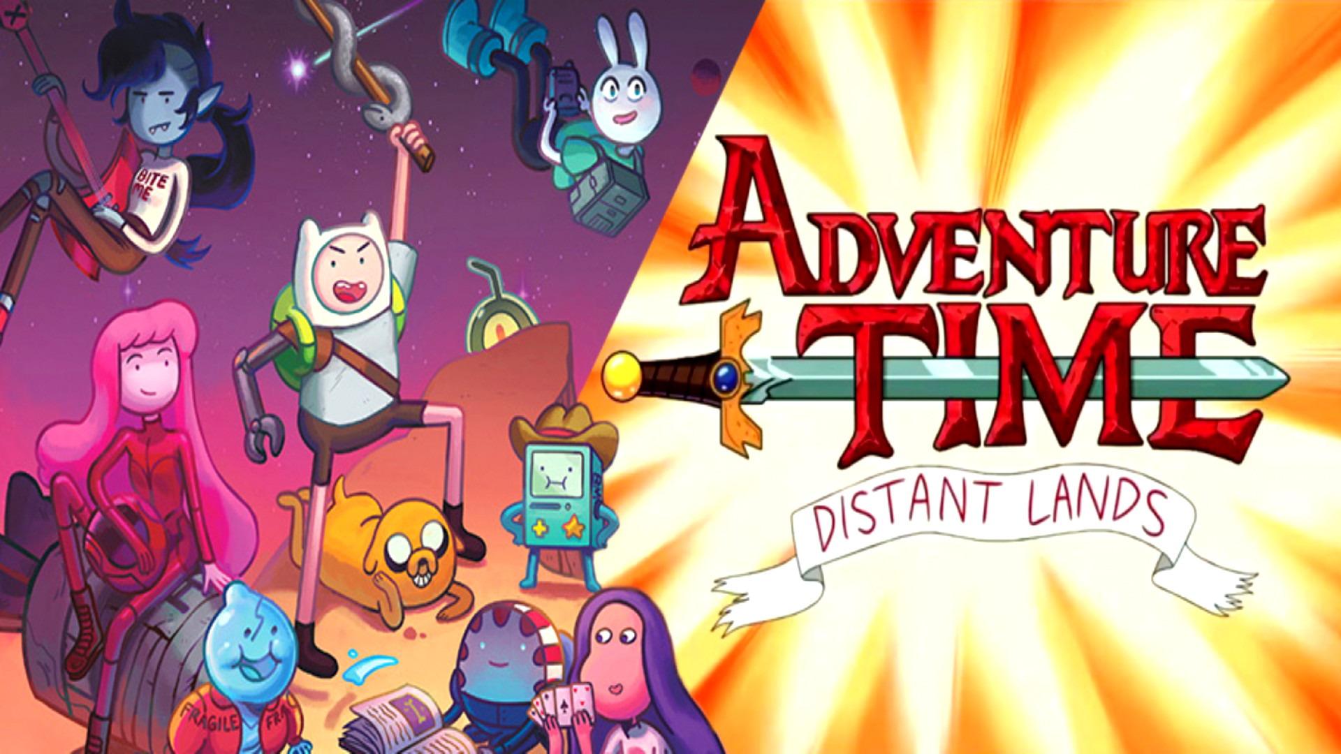 Show Adventure Time: Distant Lands