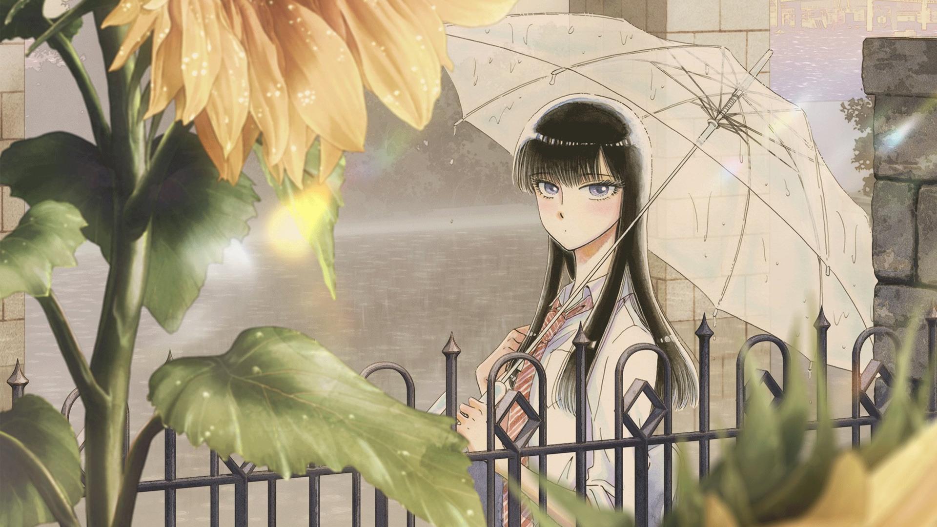 Аниме Любовь похожа на прошедший дождь