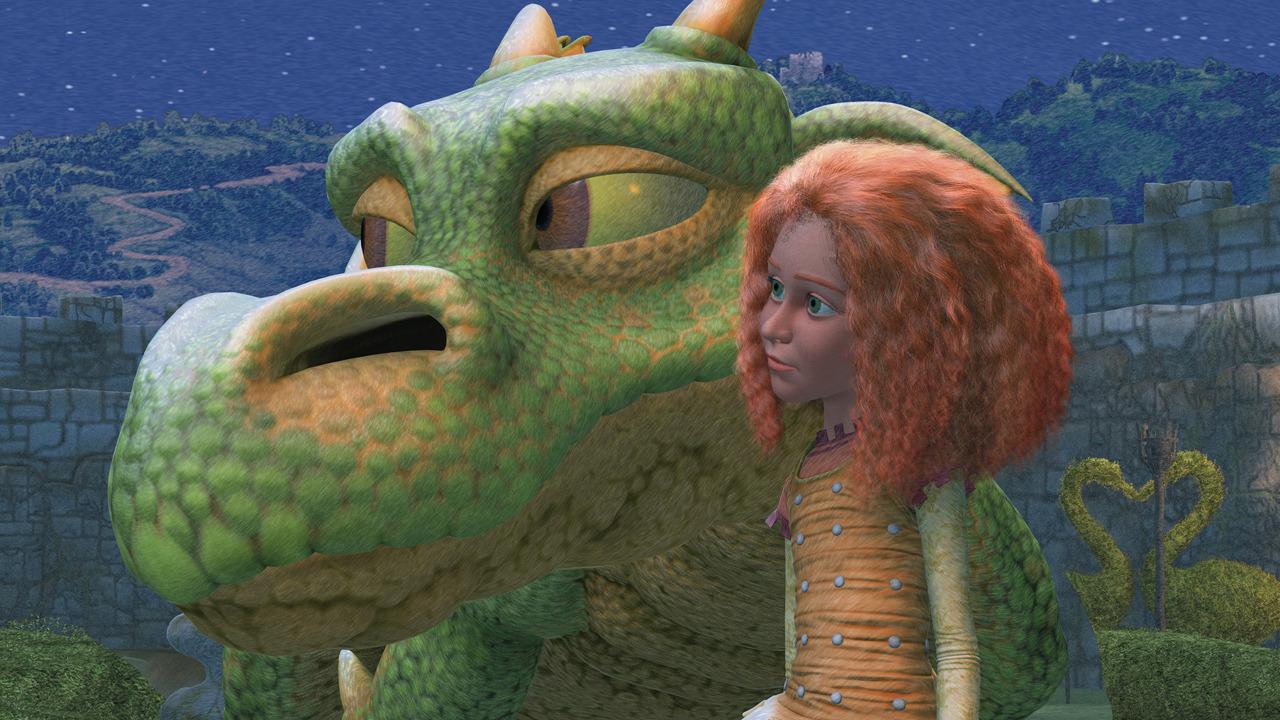 Мультсериал Джейн и дракон