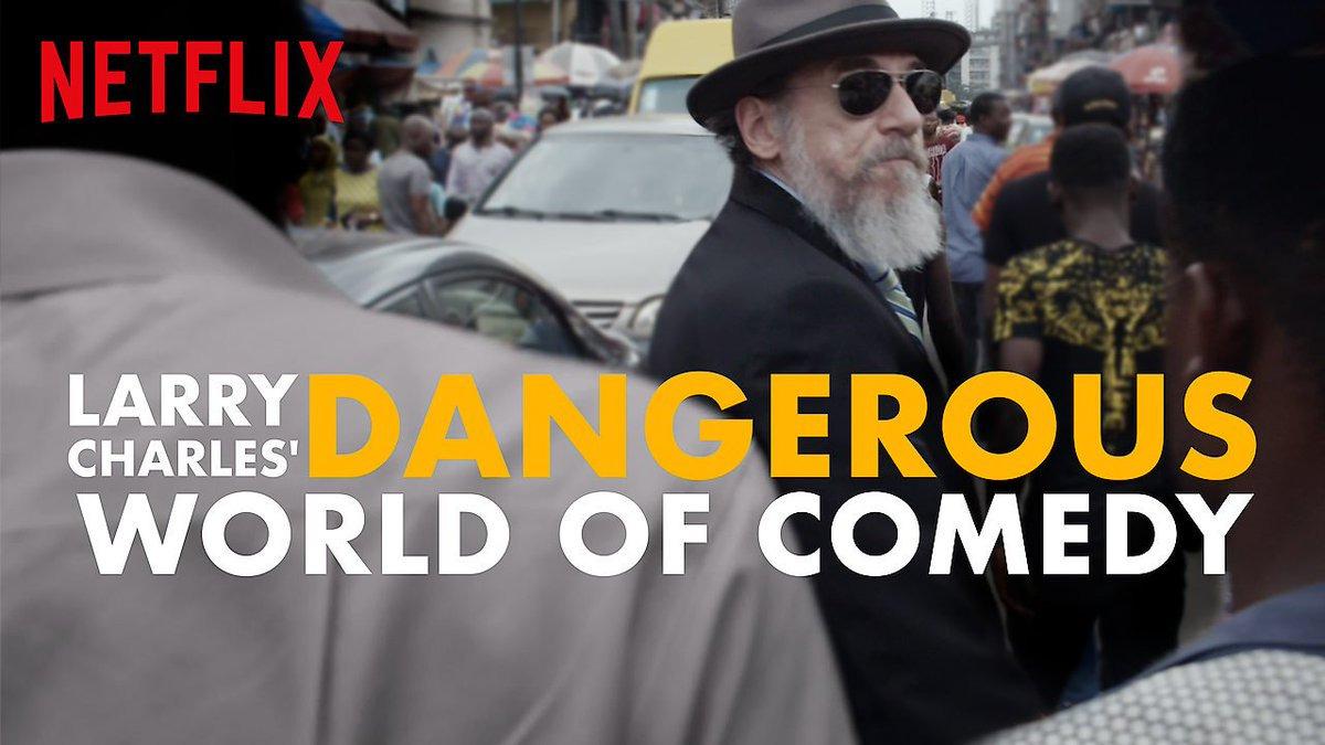 Сериал Опасный мир комедии с Ларри Чарльзом