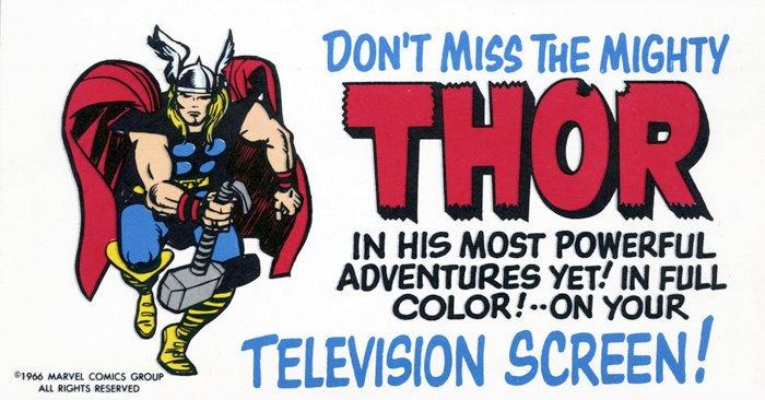 Cartoon Mighty Thor