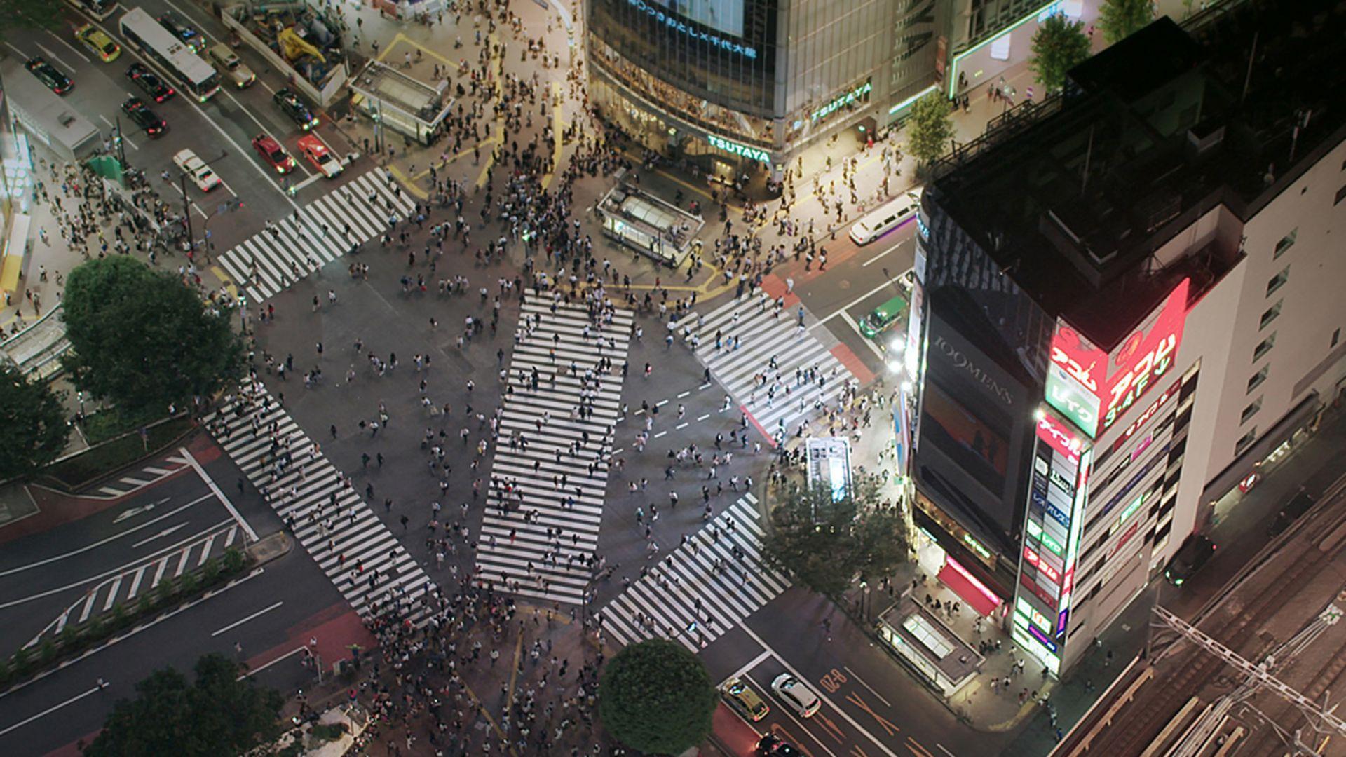 Сериал Япония с высоты птичьего полета