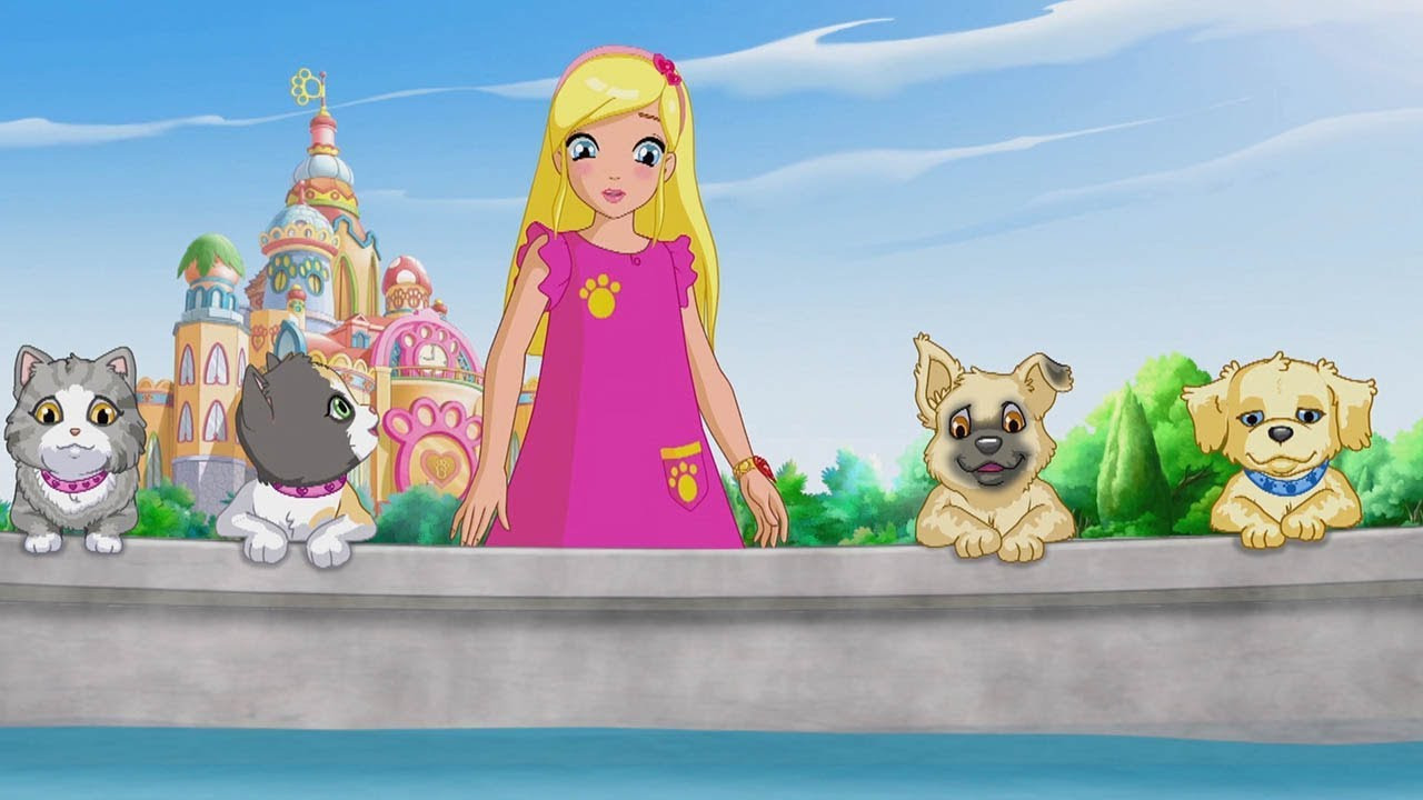 Cartoon Puppy in My Pocket: Adventures in Pocketville