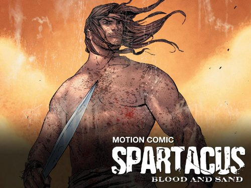 Cartoon Spartacus: Blood and Sand - Motion Comic