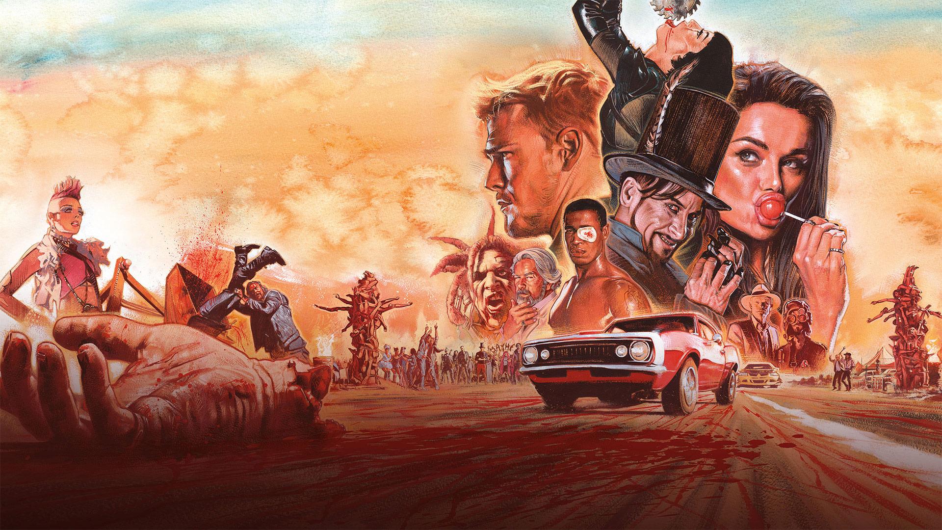 Сериал Кровавая гонка