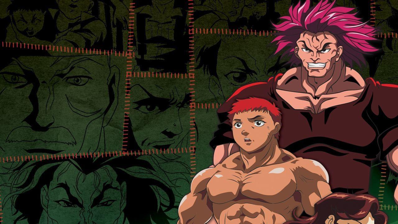 Anime Baki the Grappler