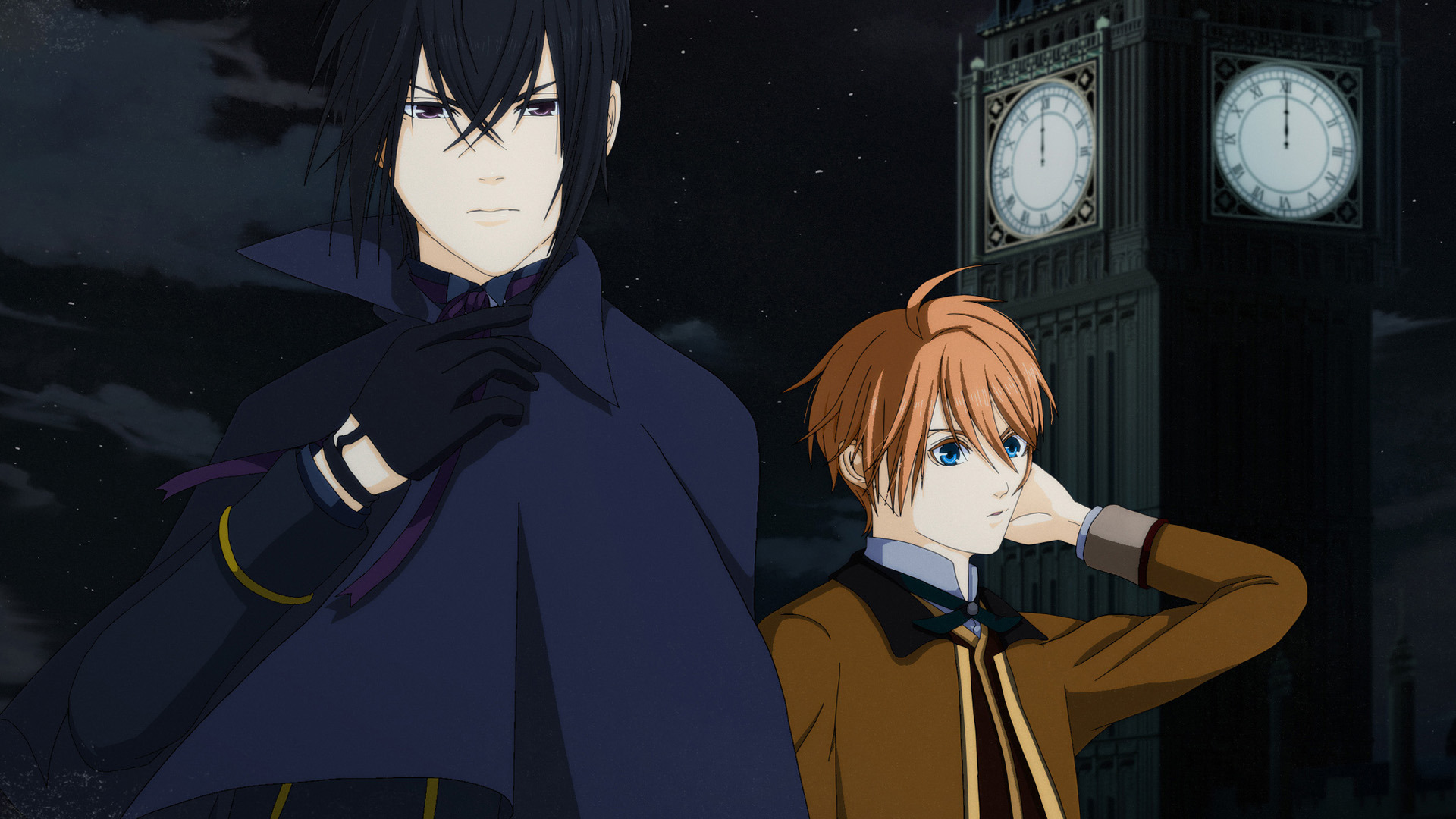 Anime Vampire Holmes