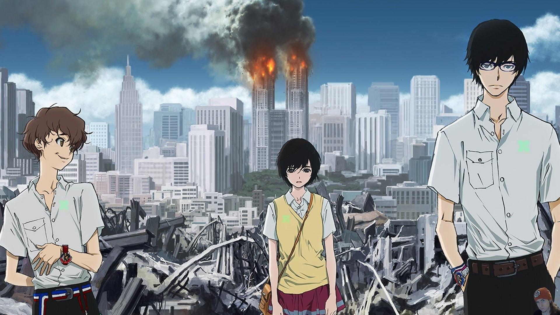 Anime Zankyou no Terror