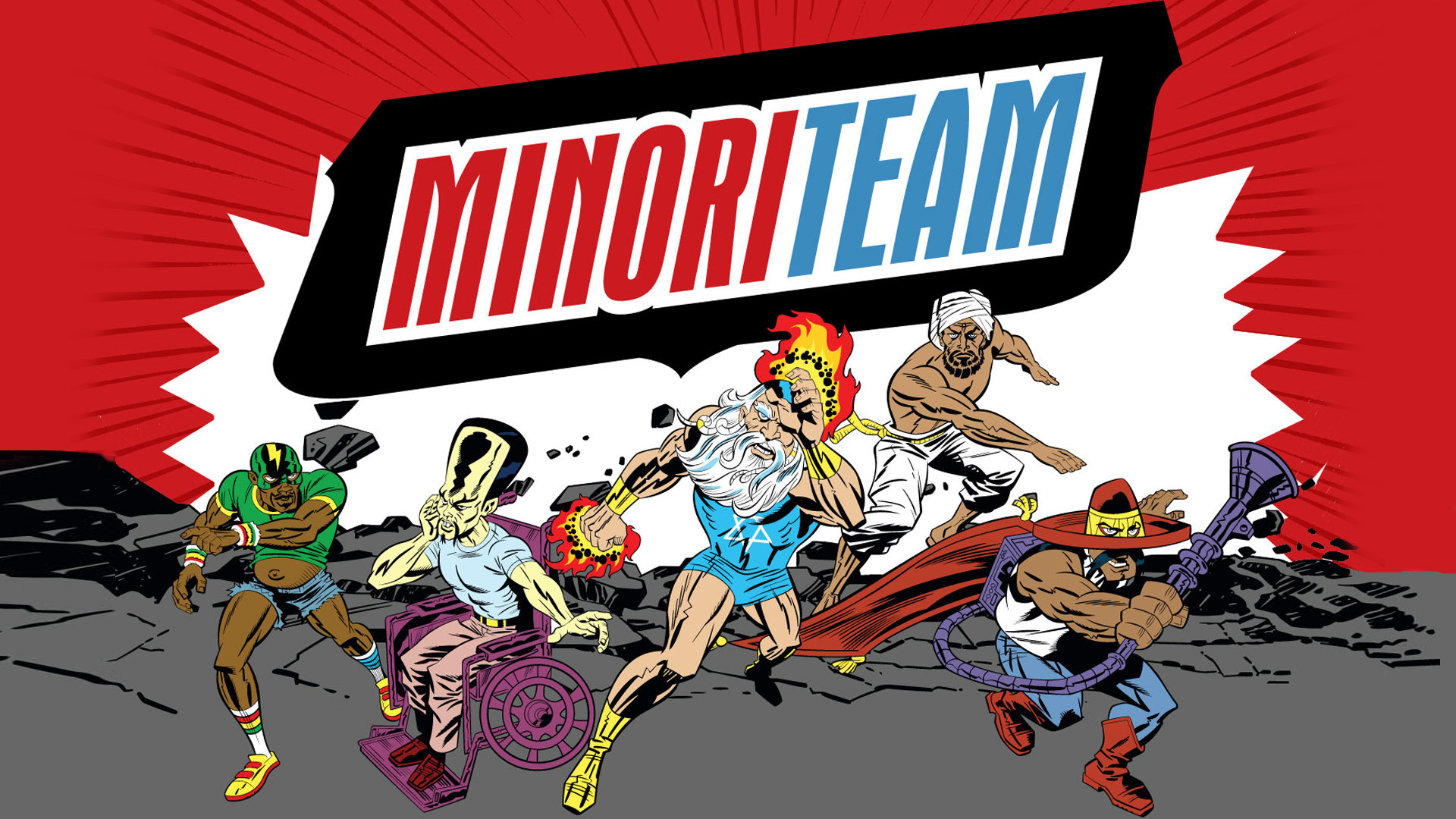 Cartoon Minoriteam