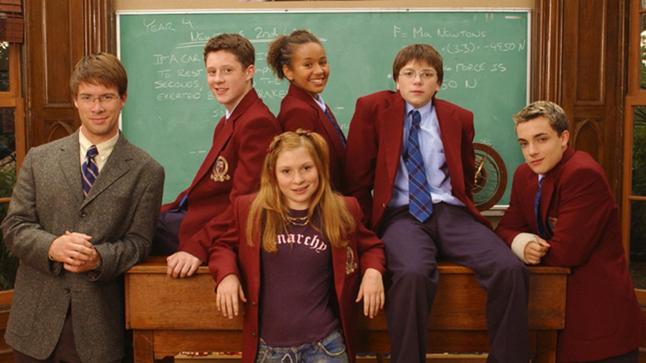 Сериал Школа «Черная дыра»