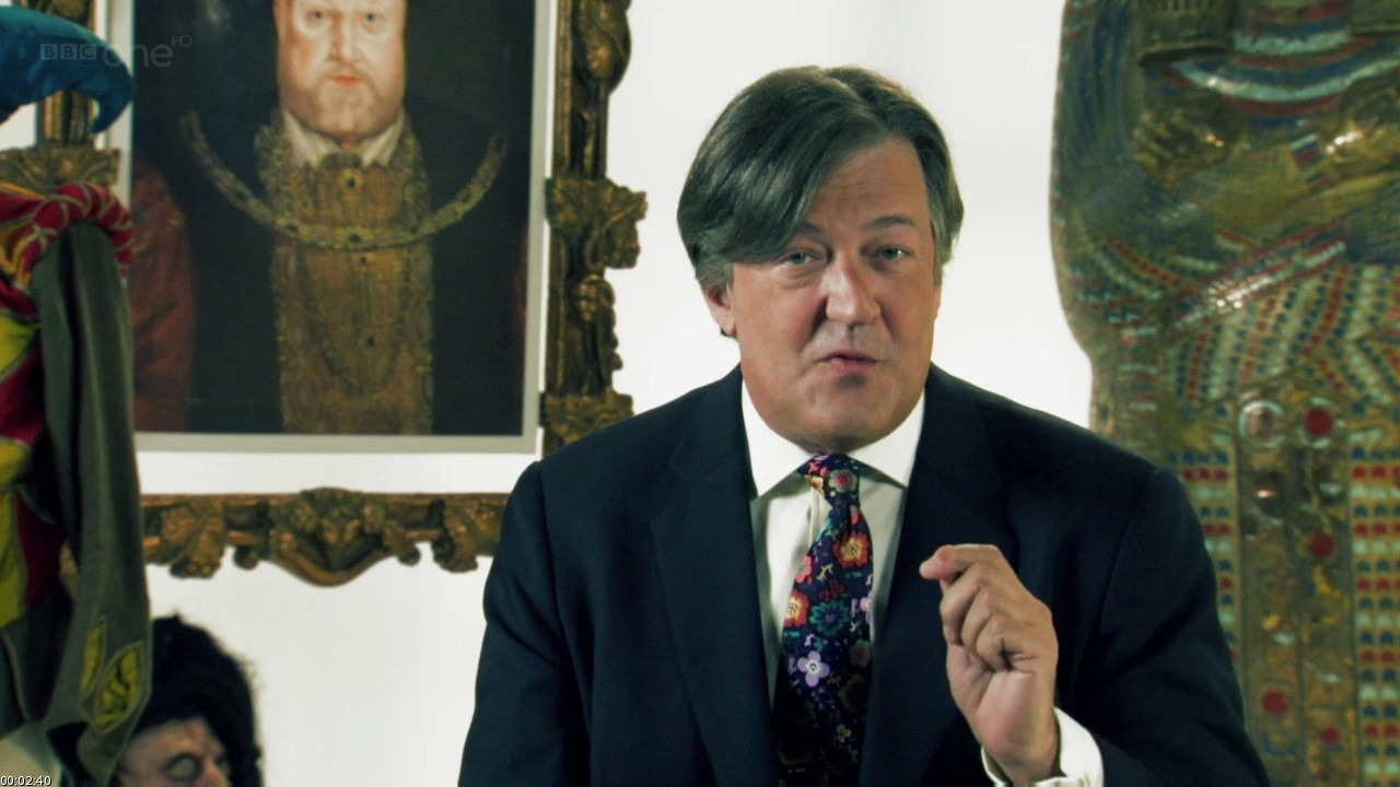 Show Horrible Histories with Stephen Fry