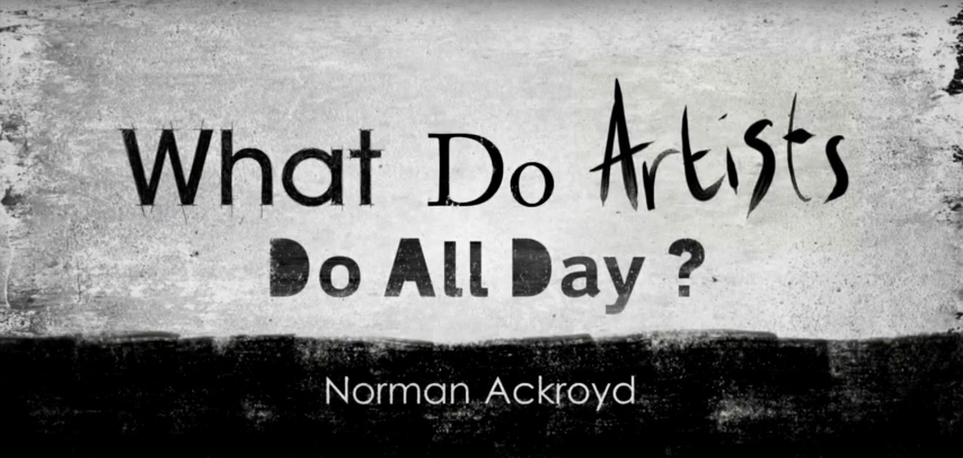Show What Do Artists Do All Day?