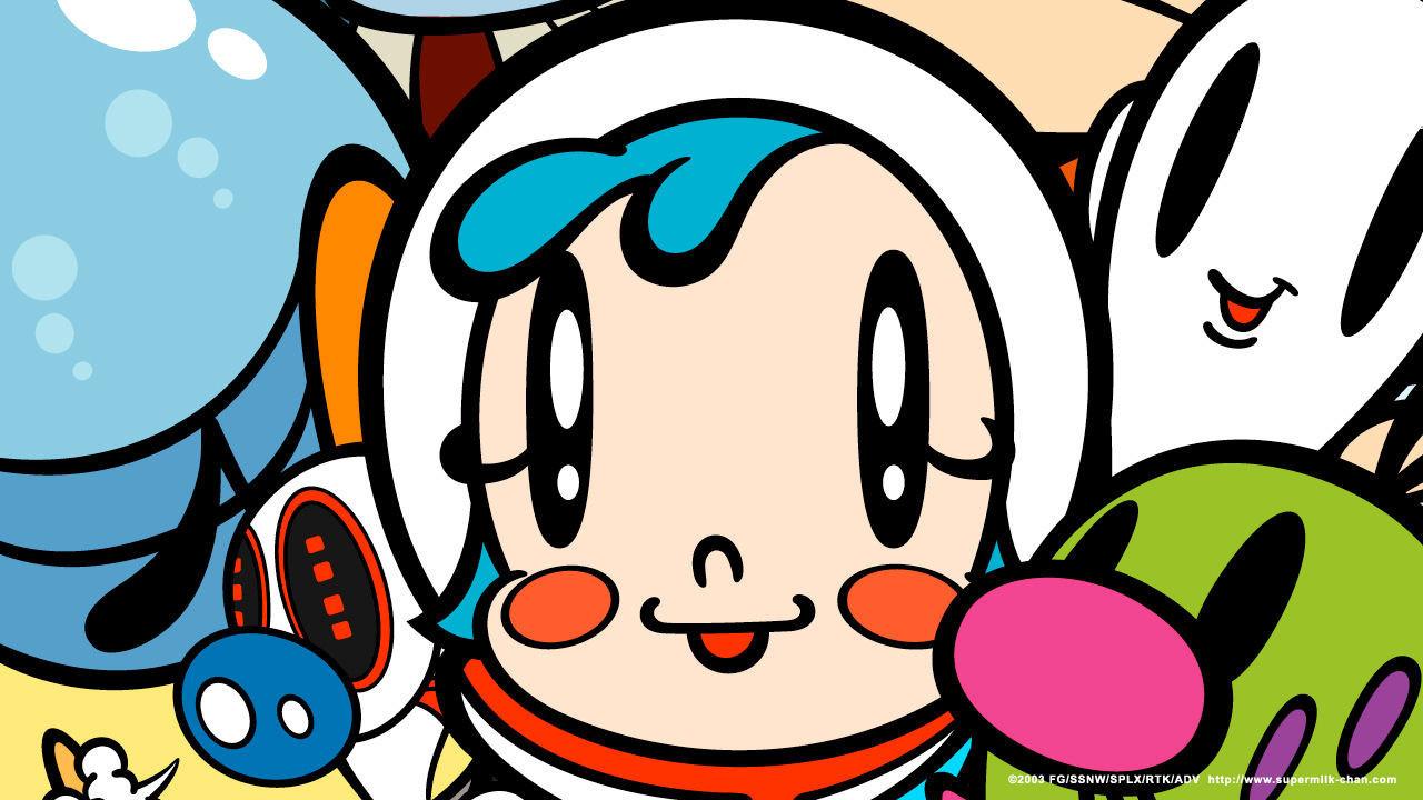 Аниме О! Супер-малышка Молоко!