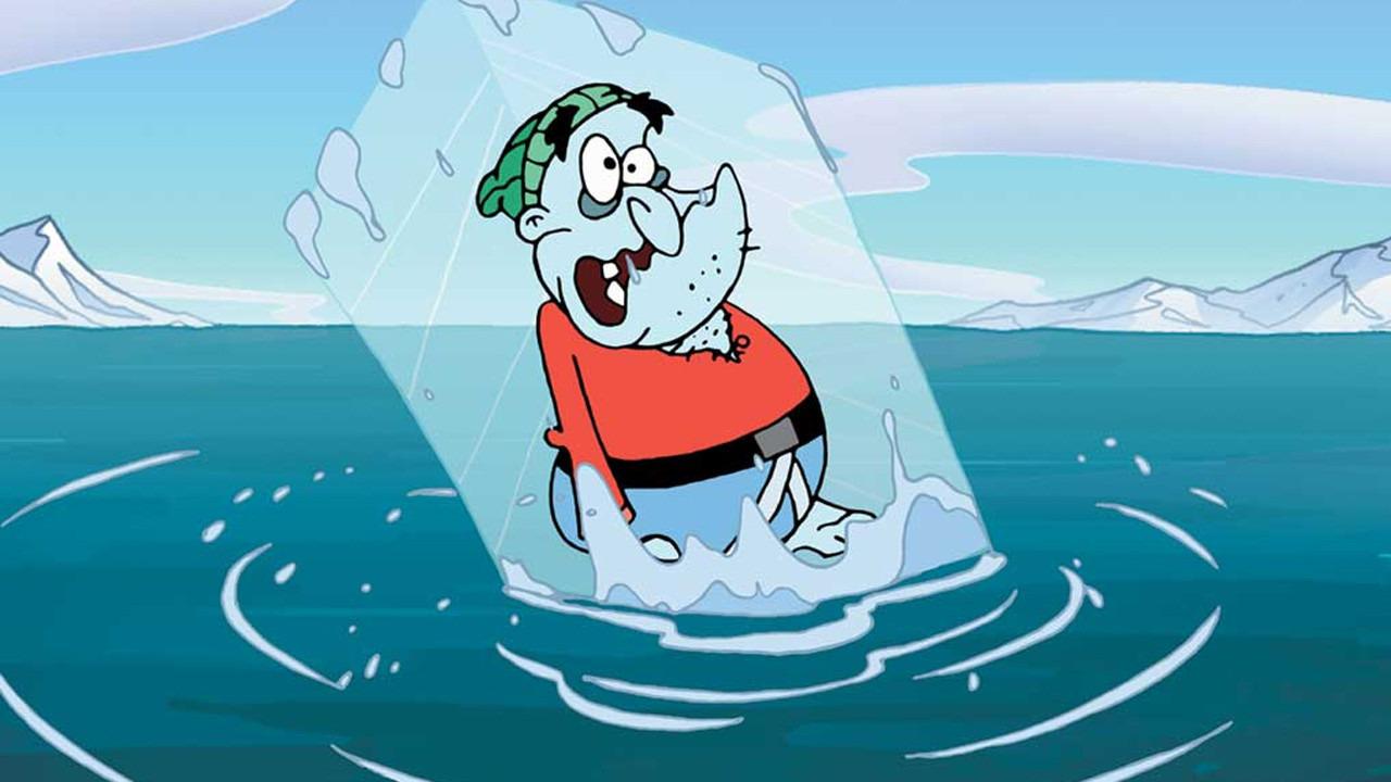 Cartoon Yvon of the Yukon