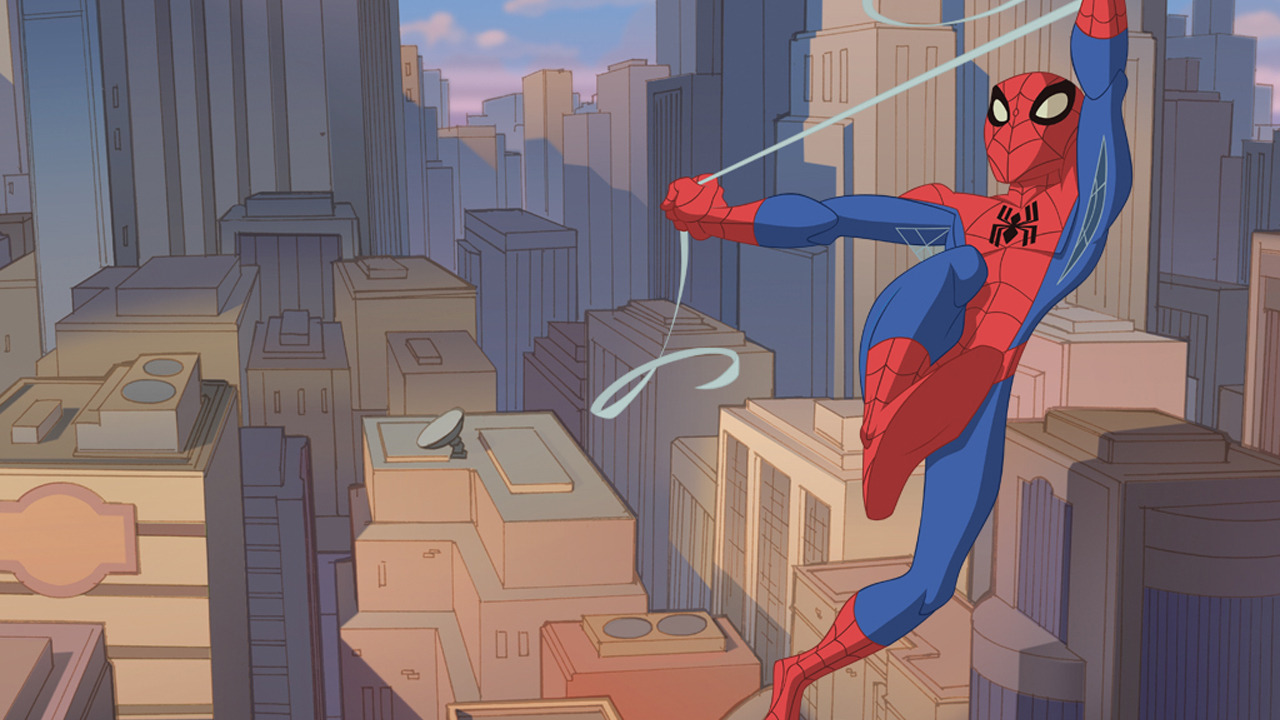 Cartoon The Spectacular Spider-Man