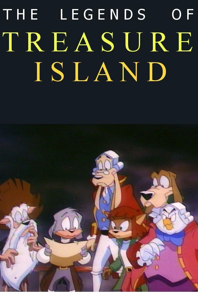 Cartoon The Legends of Treasure Island