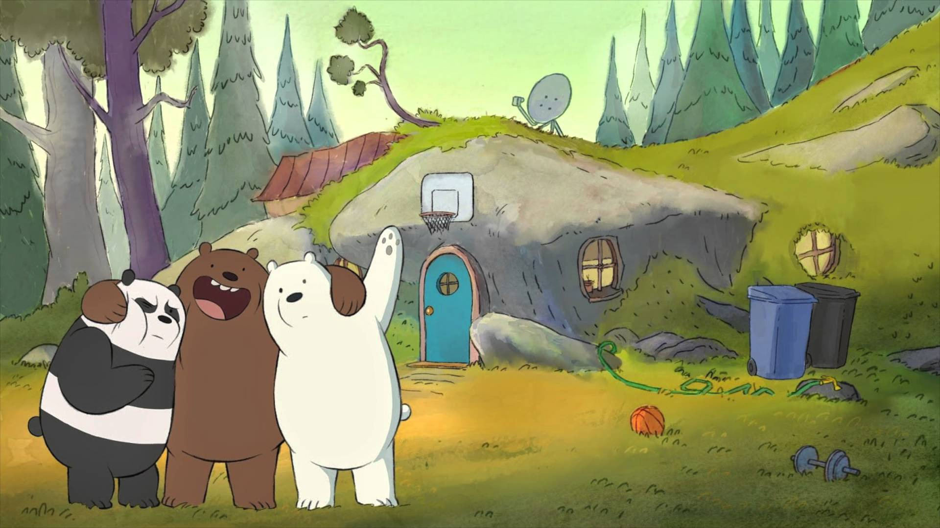 Сериал Мы обычные медведи