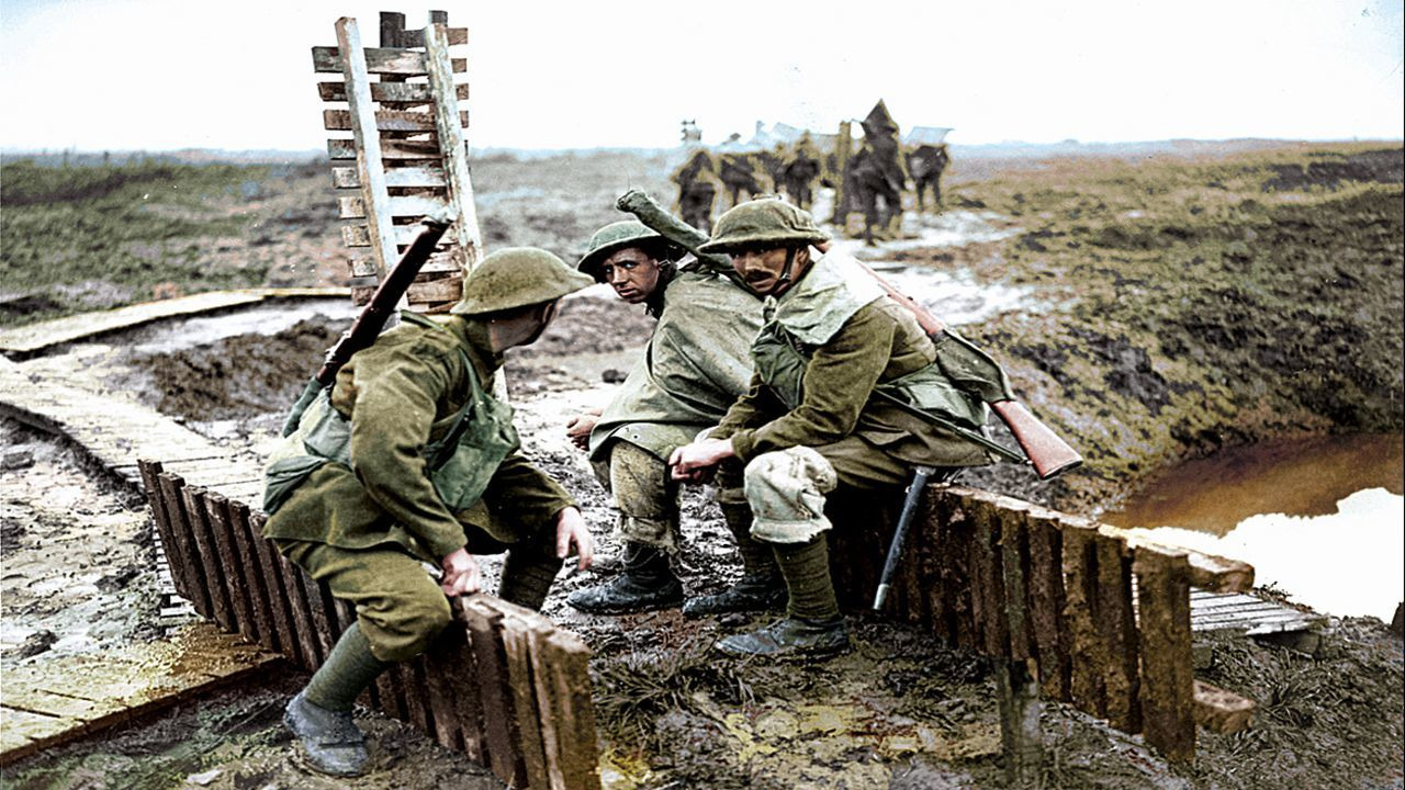 Сериал Первая мировая война в цвете