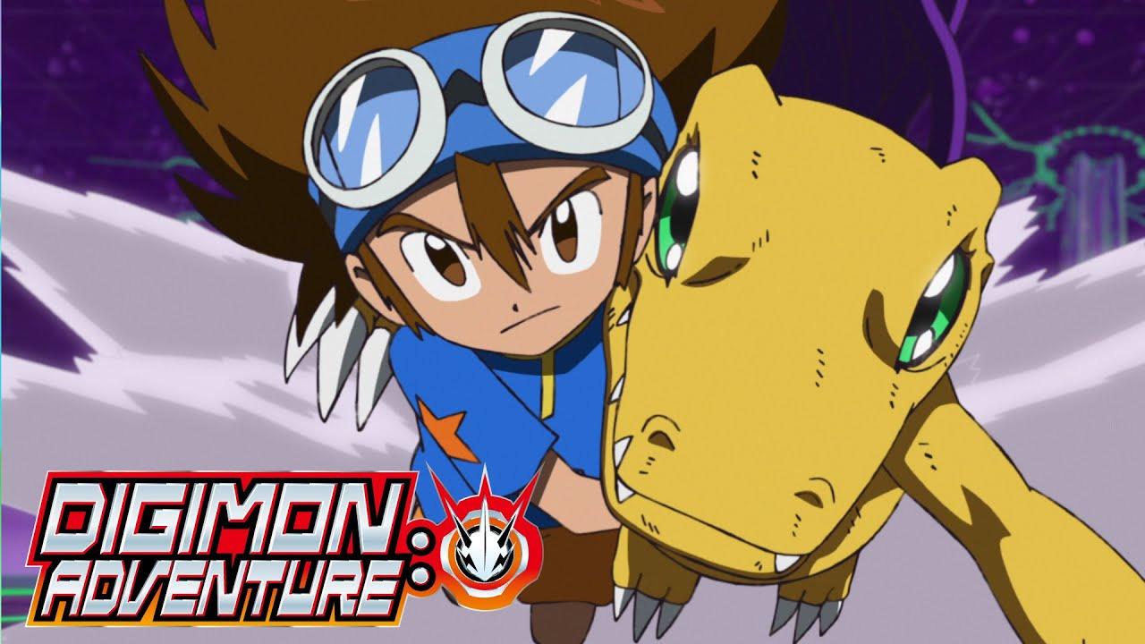 Anime Digimon Adventure: