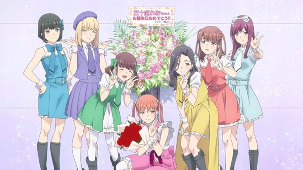 Anime Oshi ga Budoukan Ittekuretara Shinu