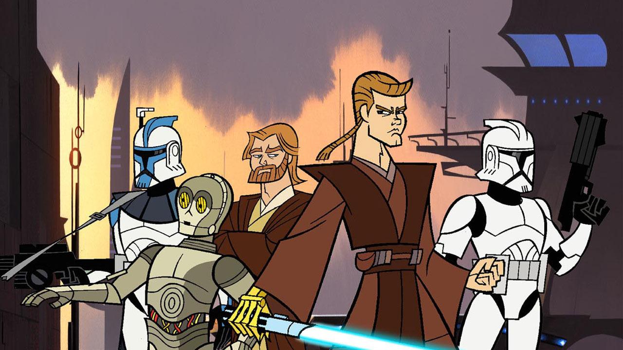 Show Star Wars: Clone Wars