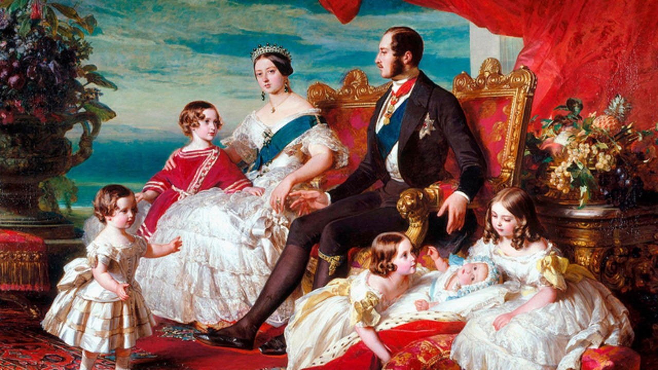 Сериал Queen Victoria and Her Tragic Family
