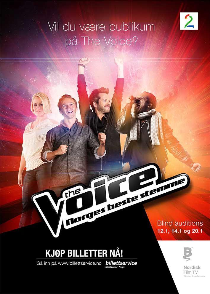 Show The Voice – Norges beste stemme