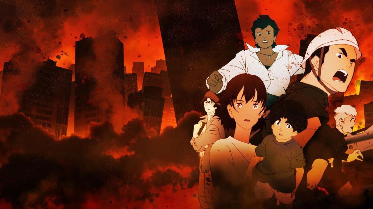 Аниме Затопление Японии 2020