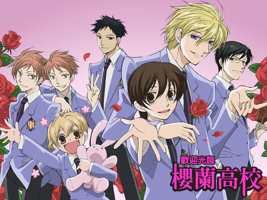 Anime Хост-клуб Оранской школы