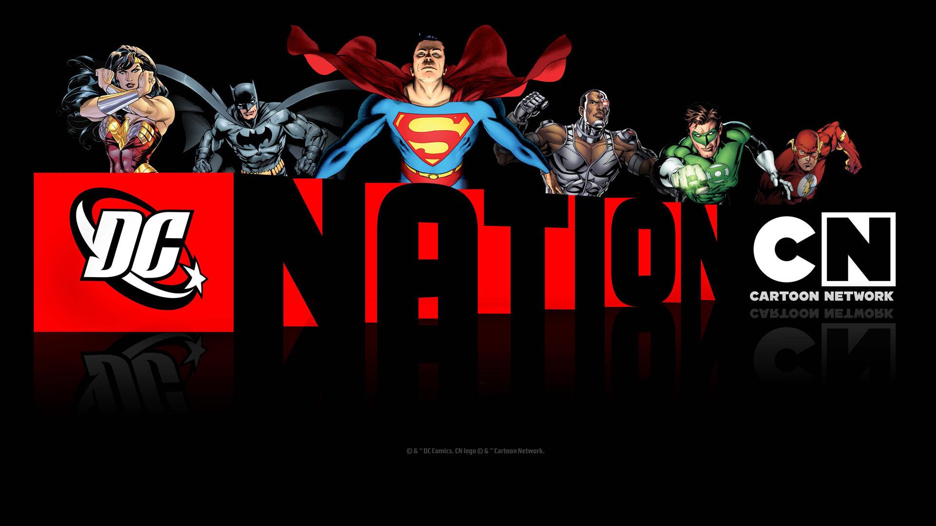 Cartoon DC Nation Shorts