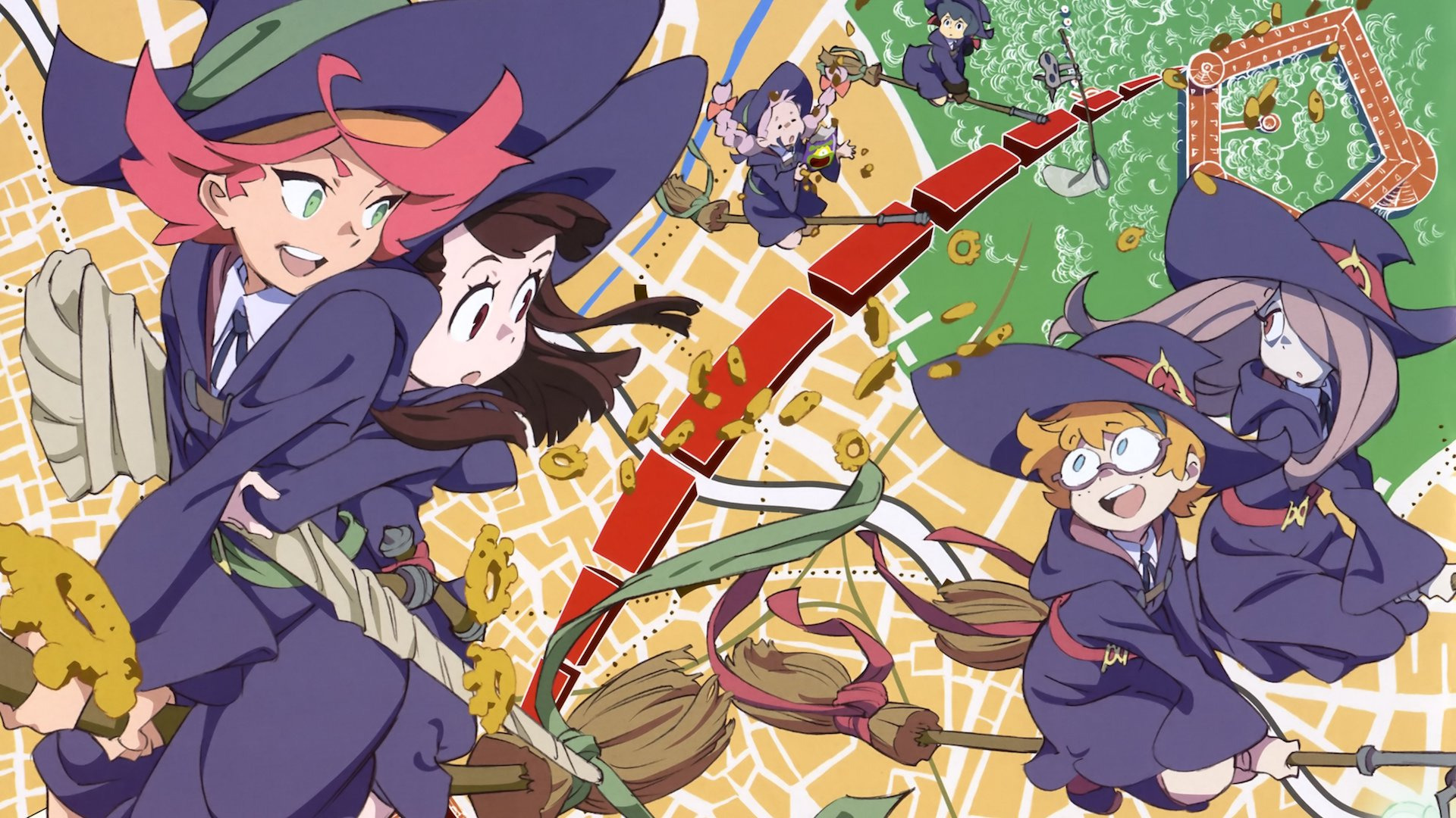 Anime Little Witch Academia