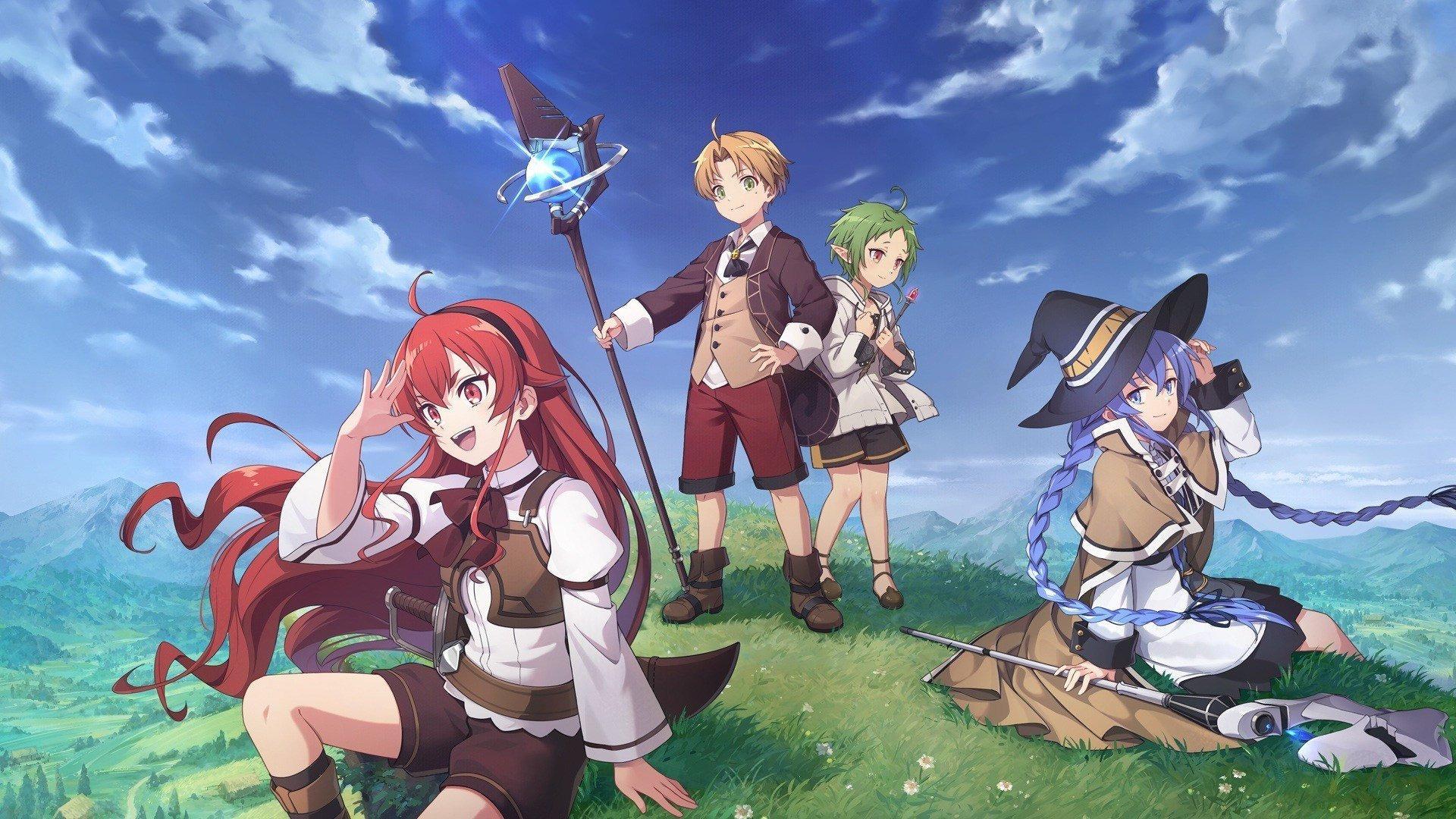 Anime Mushoku Tensei: Jobless Reincarnation