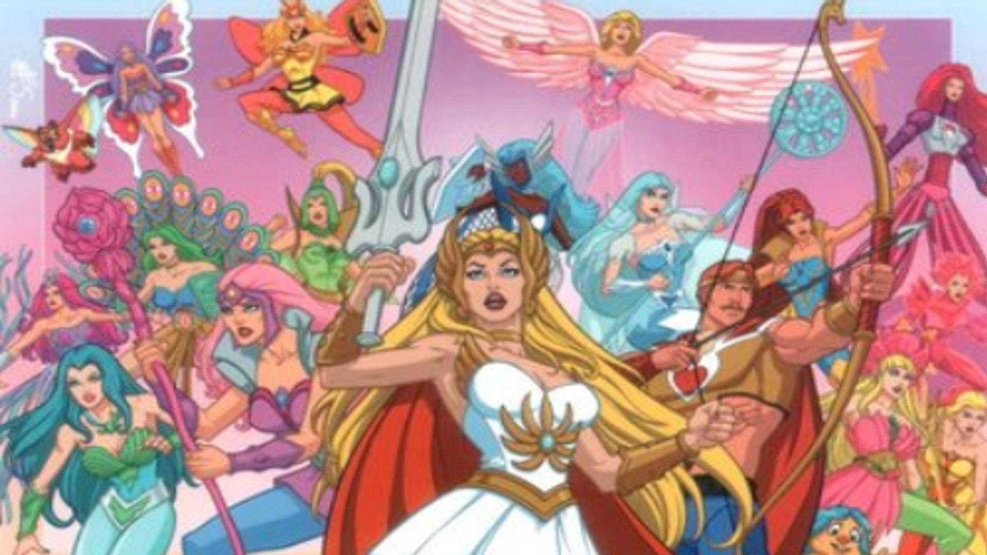 Сериал Принцесса Старла и повелители камней