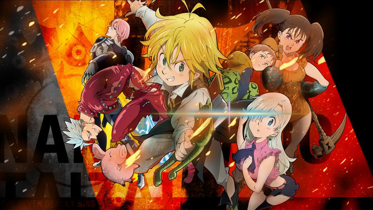 Anime Семь смертных грехов