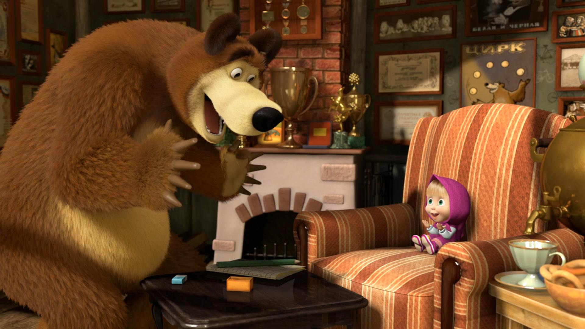 Cartoon Маша и Медведь