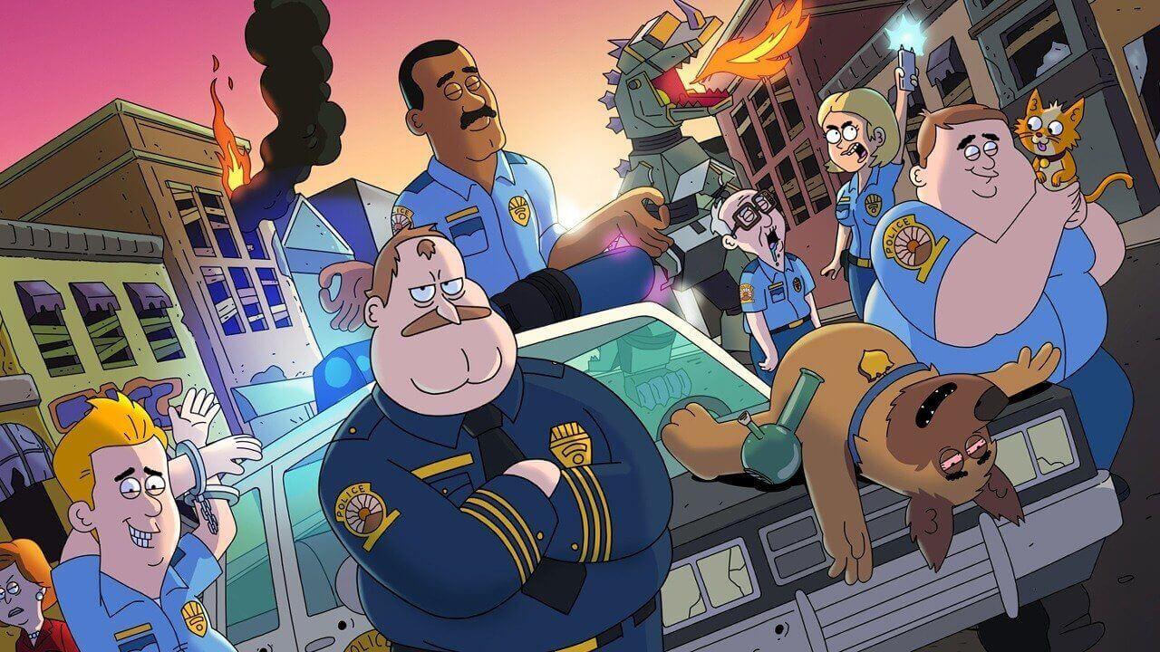 Сериал Полиция Парадайз