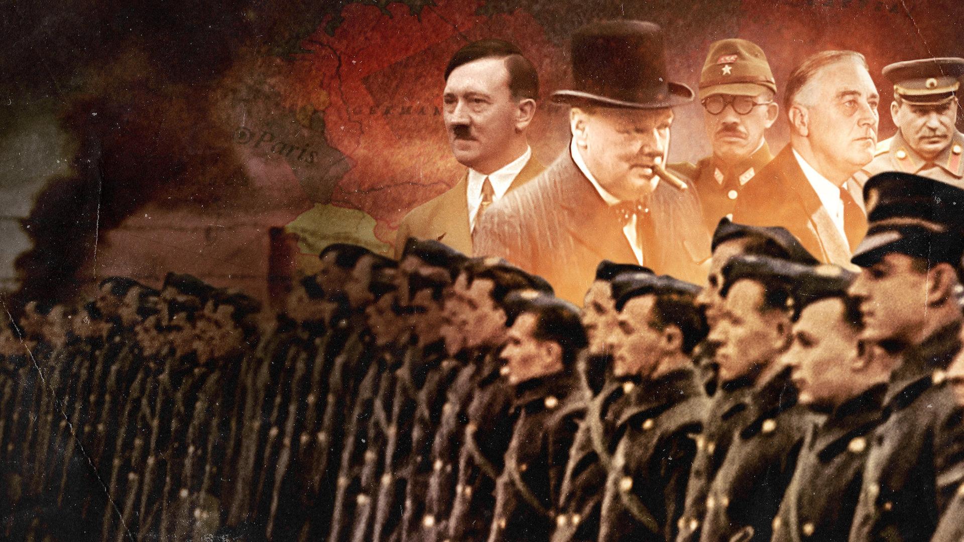 Сериал Величайшие события Второй мировой войны