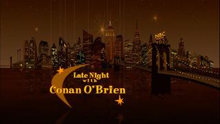 Поздняя ночь с Конаном О`Брайэном сезон 2001